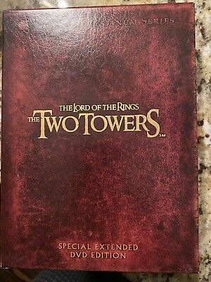 The Lord of the Rings The Two Towers DVD 4-Disc Set Extended