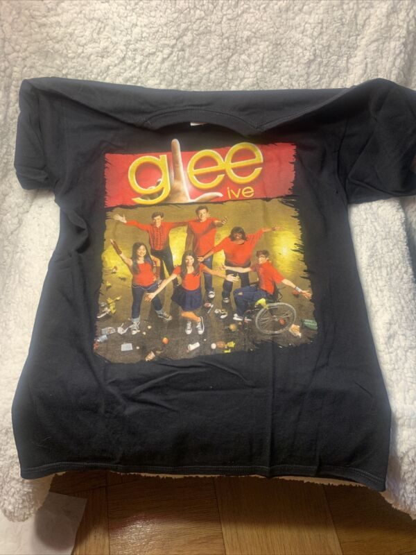 Glee Live 2010 Concert Tour Shirt Medium Rare HTf