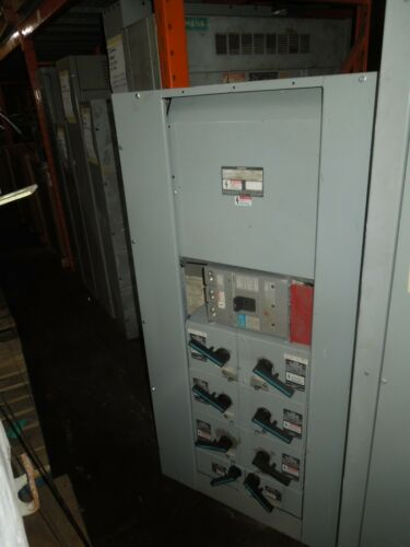 Siemens S4 400A 3ph 208Y/120V Main Breaker Panel w/ Fused Switch Distribution