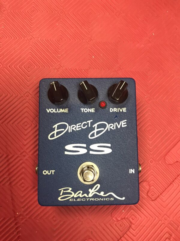 Barber Direct Drive SS overdrive/distortion guitar pedal