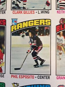 1976-77 O-Pee-Chee OPC Hockey Uncut Sheet w/Bryan Trottier RC Stratford Kitchener Area image 5