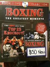 Boxing the greatest moments book and dvd collection Craigieburn Hume Area Preview