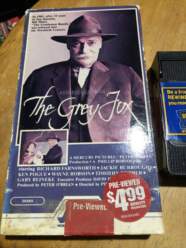 The Grey Fox (VHS, 1992)