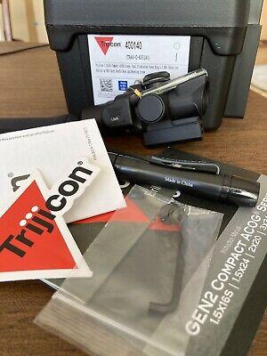 Trijicon 1.5 X 16s Compact ACOG Green Ring 400140 TA-C-400140