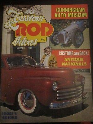 1001 Custom and Rod Ideas Magazine August 1977 Foose '48 Ford (X4) U](Customes Ideas)