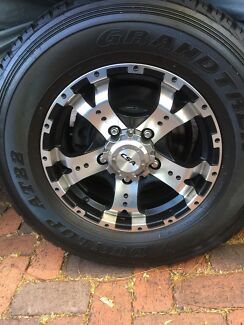 Mag Wheels for 100 Series IFS Land Cruiser