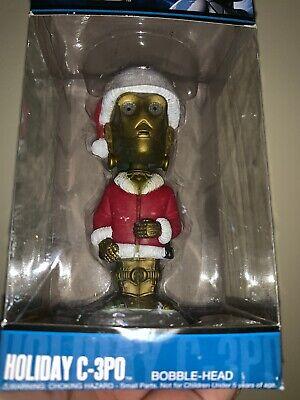 STAR WARS HOLIDAY - C-3PO - FUNKO POP - BRAND NEW - CHRISTMAS Santa Claus NEW