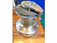 SINGLE(ONE ONLY) BARIENT 27ST 2 SPEED SELF TAILING CHROMED BRONZE WINCH