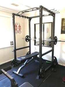 Complete home gym equipment set up garage fitness business