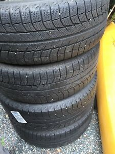 Winter Tires Michelin Latitude on rims