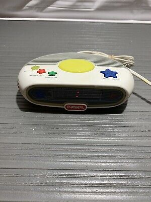 PLAYSKOOL Vintage Kids Digital Alarm Clock Music AM/FM Radio PS-350 WORKS