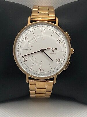 Fossil Q FTW5029 Women's Stainless Steel Analog Dial Hybrid Smart Watch HK125
