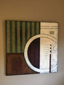 Huge Abstract Painting on Canvas
