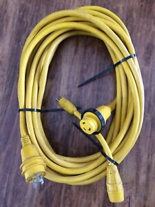 Shore power boat cabin cruiser extension cable 10/3 30 amps