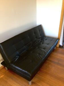 Very new leather sofa
