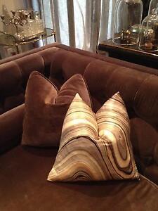Brand New West Elm Silk Print Cushion Covers