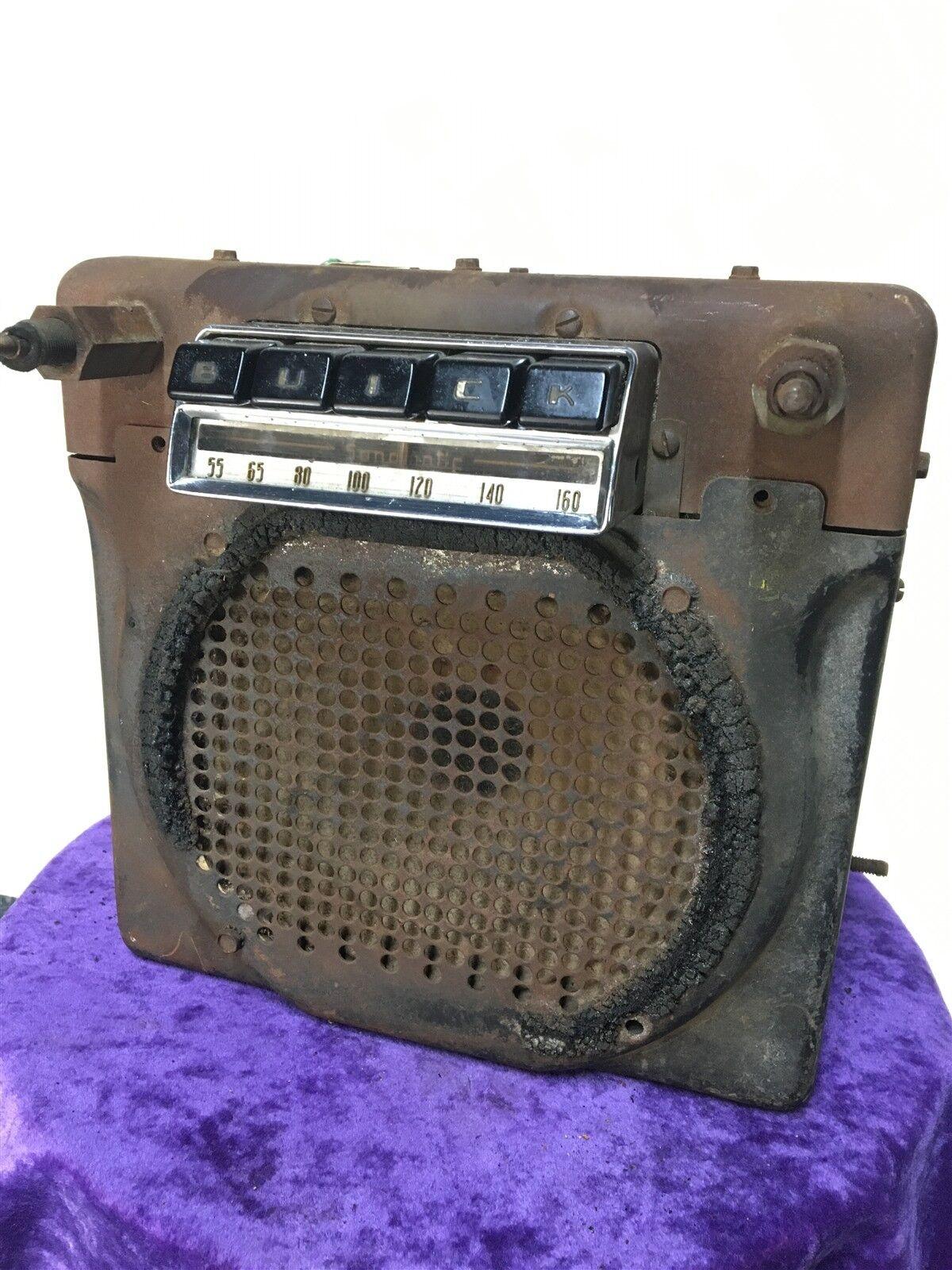 1950's BUICK Sonomatic 980868 Classic Mid century modern RETRO factory car RADIO
