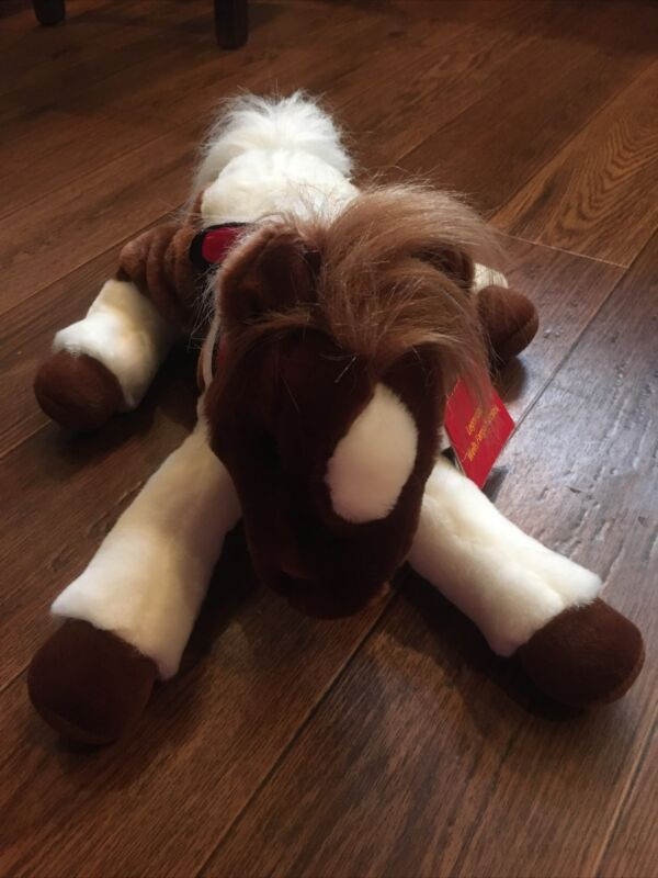 2005 Wells Fargo Toys R Us Painted Horse Plush Pony Trixie With tags