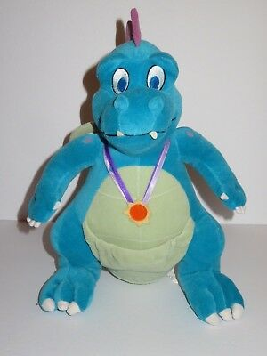 Dragon Tales Live Ord Plush Dragon Blue Toy Doll Figure Stuffed Animal Sesam 13""