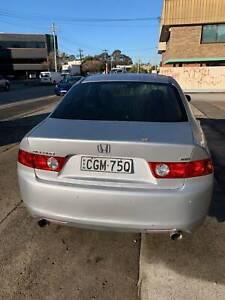 2005 Honda Accord Euro Luxury 5 Sp Sequential Auto 4d Sedan