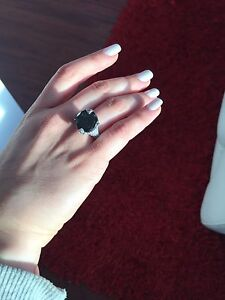 Rare 13ct Fancy Black Diamond with Ring - RRV $19,301 Strathfield Strathfield Area Preview