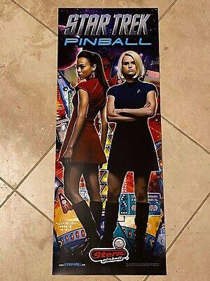 Star Trek Girls Stern Pinball Vinyl Banner 13x33 Inches