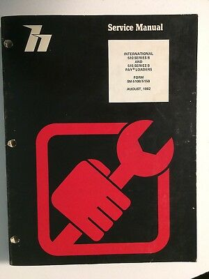 Ih International Hough 510b515b Front-end Wheel Loader Service Repair Manual Oe