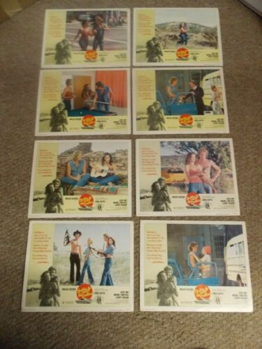 BOBBIE JO AND THE OUTLAW(1976)LYNDA CARTER ORIGINAL SET OF 8 LOBBY CARDS 11BY14