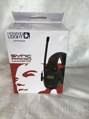 Howard Leight Sync Radio Digital Amfm Earmuffs