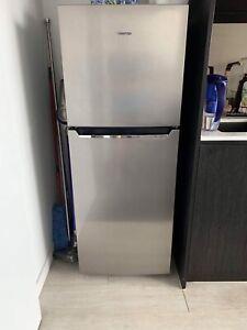 As new Hisense stainless steel fridge