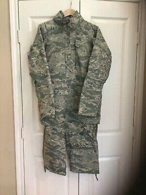Set of USAF ECWS Tiger Stripe Parka/Trousers Sz  Small/Regular (both) Set Ecws Parka