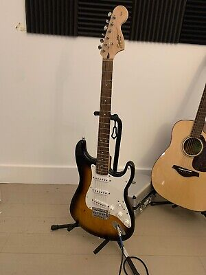 Fender Stratocaster Squier Electric Guitar  Made In Indonesia