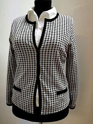 Einzelne Damen Kostüm (Dame-Kostüm-schwarz/weiß Hahnentritt, Trent Style, Jacke oder Rock einzeln )