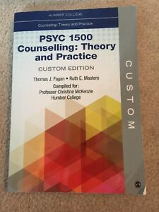 PSY 1500 counselling: theory and practice