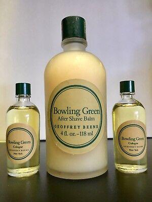 Bowling Green 4 Oz   118 Ml After Shave Balm   2  Pcs  0 5 Oz Cologne   Vintage