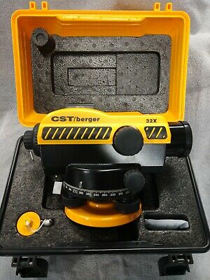Cst Berger Sal 32 Auto Level Surveying Sokkia Topcon Spectra 55-sal32nd Transit