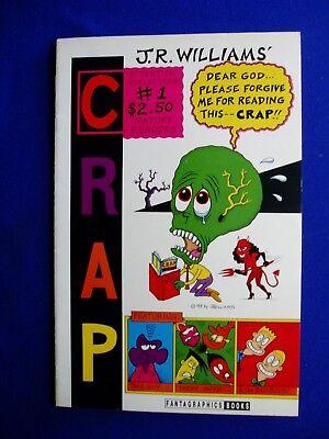 Crap 1 J R Williams: . Alternative /Underground. Fantagraphics 1993. 1st. VFN.