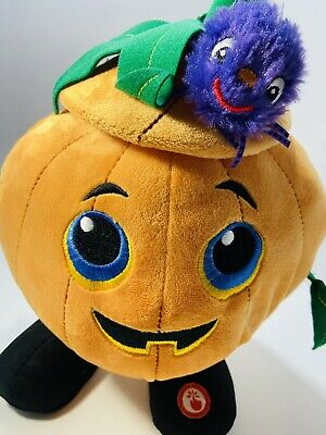 Hallmark Halloween Singing Dancing Pumpkin - Tested And Working With Spider