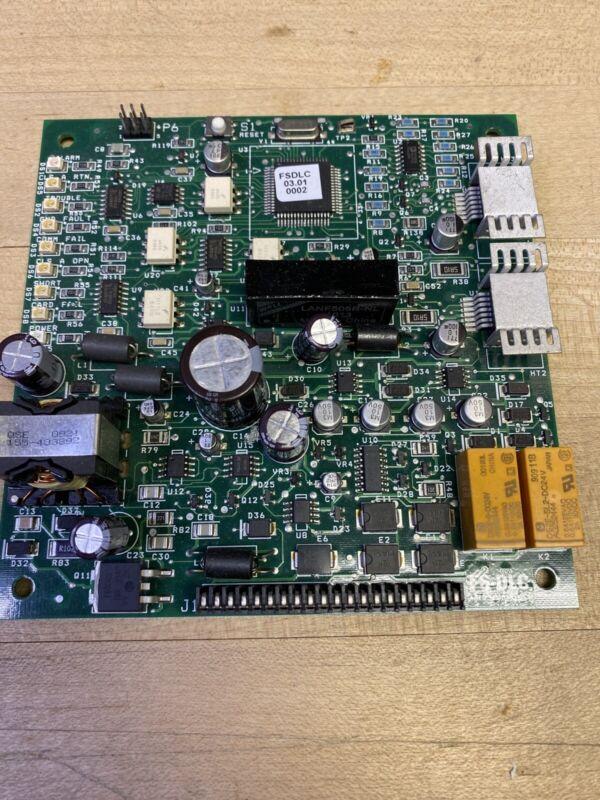 SIEMENS FS-DLC Card pcb part board circuit fire alarm signal 250 FSDLC