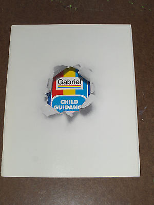 VINTAGE 1980 GABRIEL CHILD GUIDANCE BABY PRESCHOOL TOY CATALOG