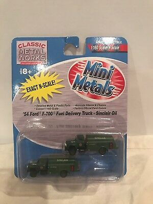 # 50301 1/160 MINI METALS N SCALE 1954 FORD F-700 FUEL DELIVERY TRUCK for sale  Brandon