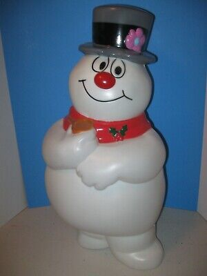 """NEW 2021- 24"""" Frosty The Snowman Lighted Blow Mold CHRISTMAS DECORATION #2"""
