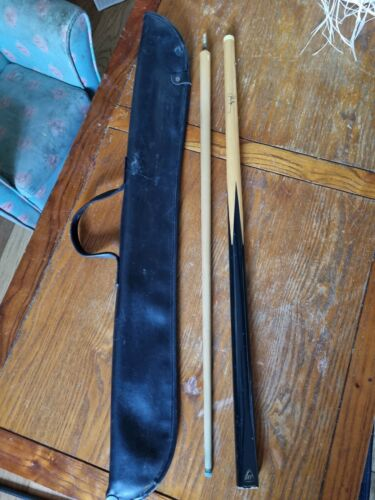 BCE Two Piece John Spencer Snooker Cue And Carry Bag