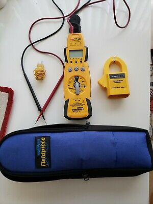 Fieldpiece Hs33 Expandable Manual Ranging Stick Multimeter For Hvacr With Case