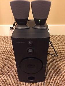 Harman Kardon Desk Speakers and Sub