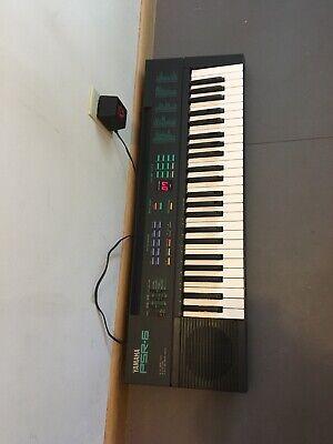 Vintage 1990 Yamaha PSR-6 Portatone 49 Key Electronic Keyboard Synthesizer Used, used for sale  Shipping to India