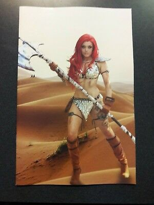 RED SONJA #24 1:30 Cosplay Virgin Variant Comic Book Dynamite NM 2018 @