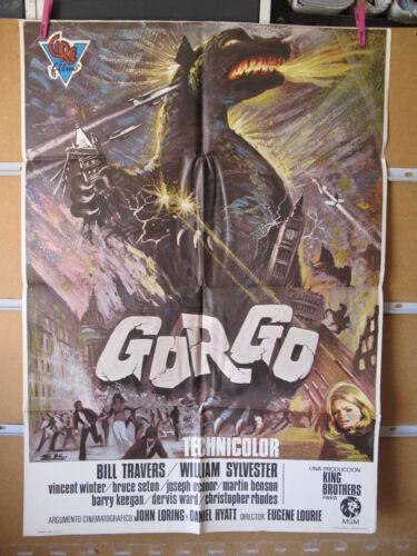 A3861 Gorgo Eugène Lourié Bill Travers,  William Sylvester,  Vincent Winter,  Ch
