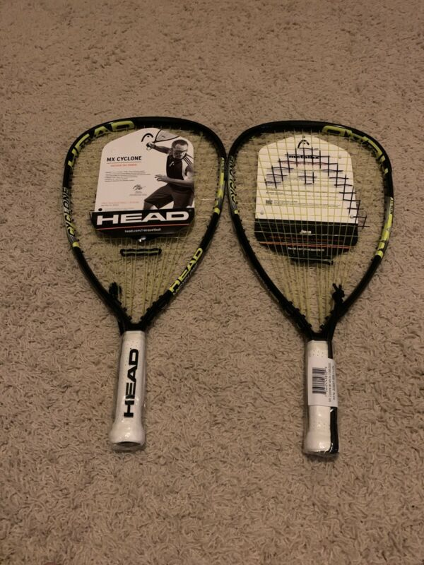 Lot Of 2 Head MX Cyclone Racquetball Racquet Rocky Carson