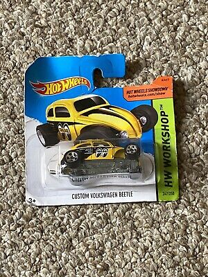 Custom Volkswagen Beetle, 2014 Hot Wheels scale 1:64, rare collectable gift